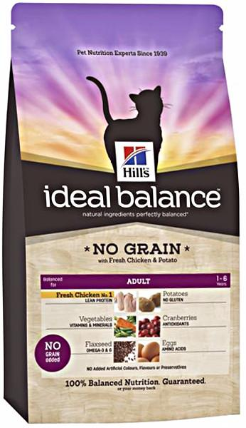 Hills Ideal Balance Feline Adult No Grain