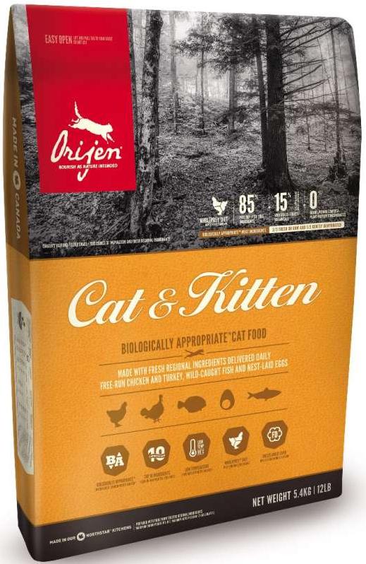 ORIJEN Cat / Kitten Poultry 85/15