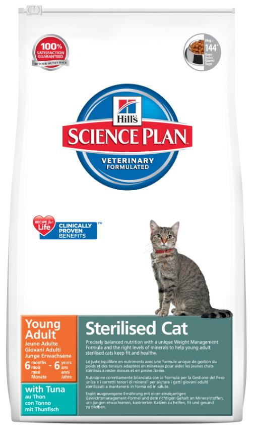 HILLS Feline Adult Sterilised Tuna