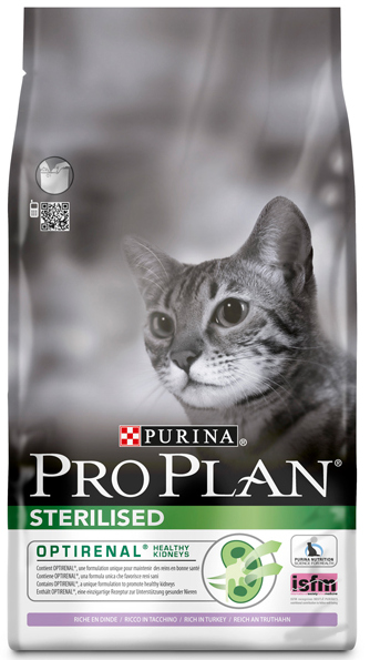 Pro Plan Sterilised Cat with Turkey